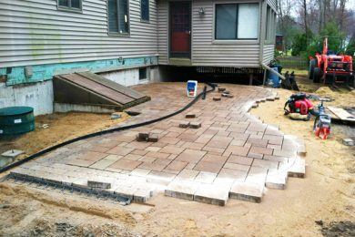 Patios  Installation