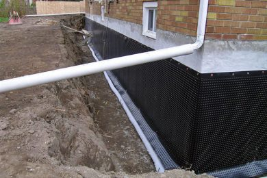 Waterproofing  Foundation  Walls   (  Exterior  & Interior  )